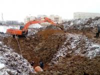 В Великом Новгороде начались работы по строительству продолжения Большой Московской улицы