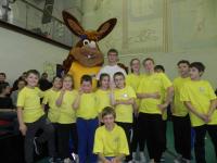 В Великом Новгороде прошел XIII спортивный фестиваль воскресных школ Новгородской Епархии