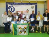 В Великом Новгороде состоялись соревнования спортобщества «Динамо» по настольному теннису