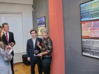 Вероника Минина посетила фотовыставку генконсула Италии в Санкт-Петербурге Леонардо Бенчини «По ту сторону смыслов»
