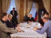 Сергей Митин дал интервью новгородским журналистам