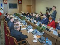 Сергей Митин обсудил актуальные вопросы развития региона с представителями Общественной палаты Новгородской области