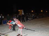 В Мареве прошли ночные лыжные гонки
