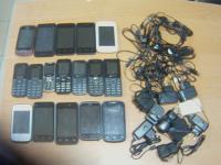 В парфинскую колонию пытались перебросить крупную партию телефонов