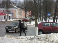 В Великом Новгороде на глазах участников антиколониального пикета произошло ДТП