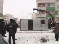 В Великом Новгороде около ночного клуба «LED» открыли стационарный пост полиции