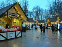 В Великом Новгороде открылась ярмарка «Рождественская деревня»