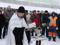 18 января на новгородском водозаборе совершится чин водоосвящения