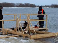 На водозаборе «Новгородского водоканала» освятили воду