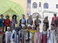 Новгородские первоклассники сыграли в спектакле «Садко»