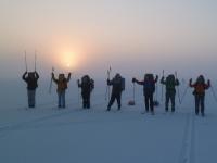 Новгородцы совершат лыжный переход через озеро Ильмень