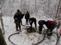 Поисковики «Долины» нашли фрагменты останков советского лётчика в Шимском районе