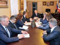 Сергей Митин обсудил с новгородским отделением ОНФ ряд актуальных вопросов развития региона
