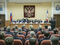 Сергей Митин принял участие в заседании коллегии УМВД России по Новгородской области