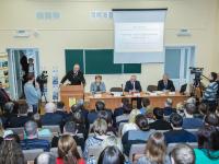 Сергей Митин встретился со студентами-заочниками института сельского хозяйства
