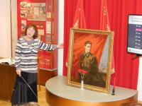 В Старой Руссе открылась выставка, посвященная подвигу Тимура Фрунзе