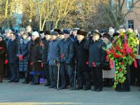 В Великом Новгороде у стелы «Город воинской славы» прошел митинг к 73-летию освобождения города