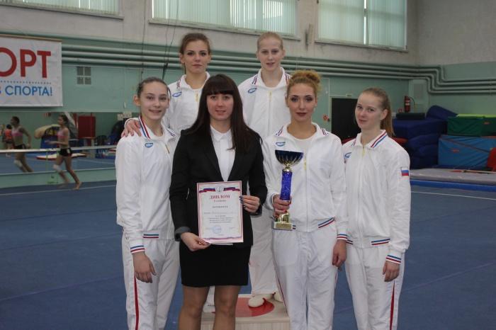 Команда «Манежа» завоевала золото на Чемпионате СЗФО по спортивной гимнастике