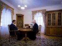 Андрей Никитин встретился с владыкой в Иверском монастыре