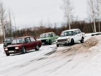 Фоторепортаж: новгородский зимний дрифт