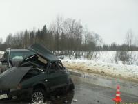 В Боровичском районе в ДТП погиб водитель из Вологодской области