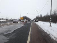 В ДТП у Подберезья в Новгородском районе пострадали ребенок и двое взрослых