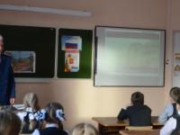 Зампрокурора Пестовского района провел для школьников «Урок мужества»