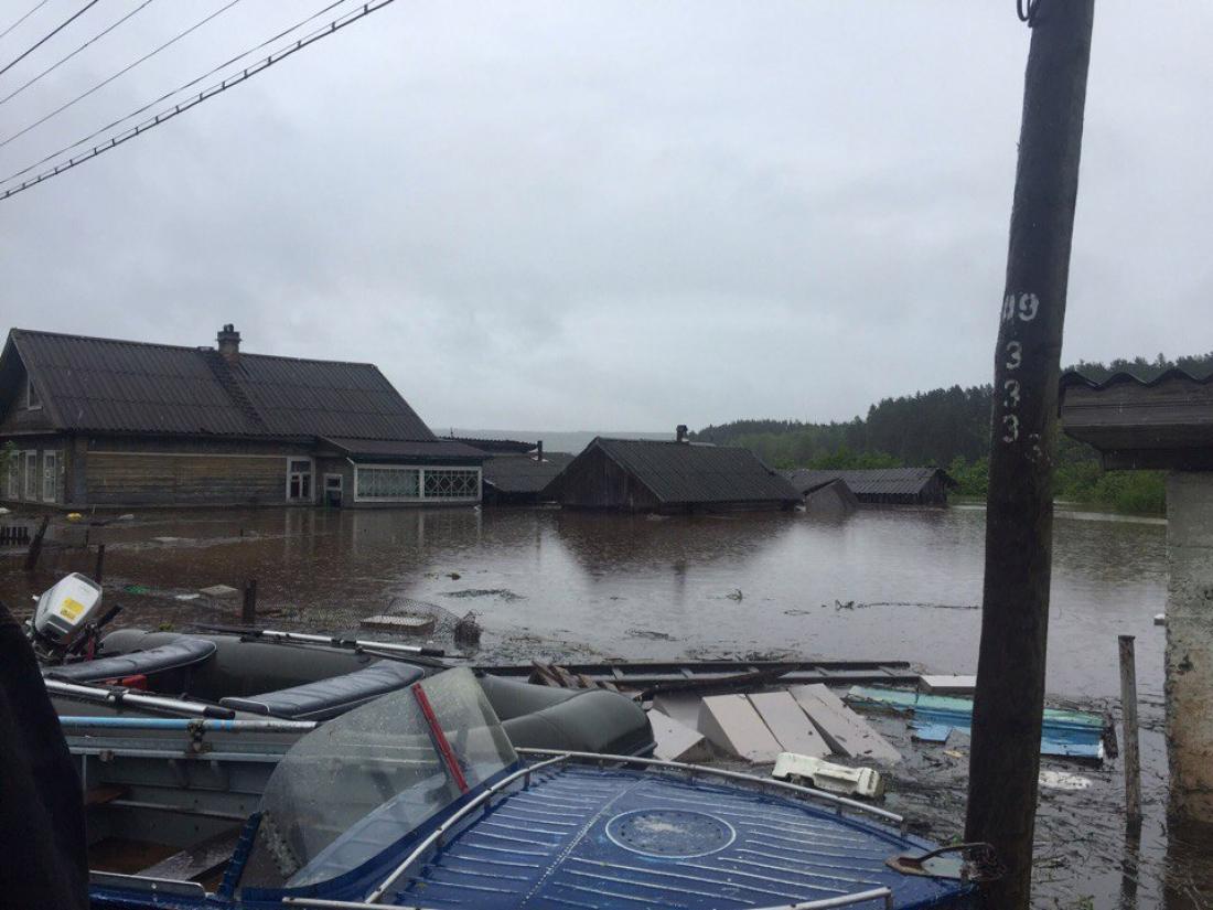 Ливень вНовгородской области разрушил участки 12 дорог