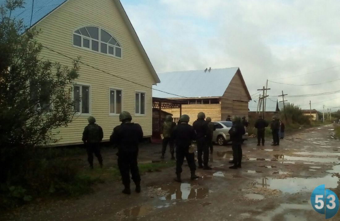 ВНовгородской области проводятся масштабные обыски уцыган