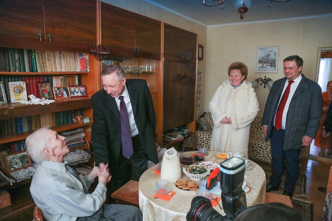 Гражданин Новгородской области получил пожелания от В.Путина