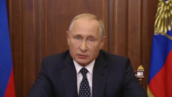 После телеобращения В.Путина снизилось число граждан России, готовых протестовать против пенсионной реформы