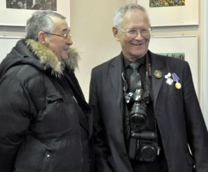 Фоторепортаж: юбилейная выставка новгородского мастера Александра Кочевника