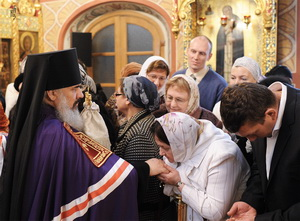 Архимандрит Ефрем возведен в сан епископа Боровичского и Пестовского