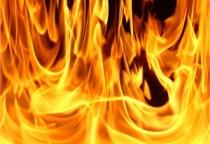 В Мошенском районе горела баня