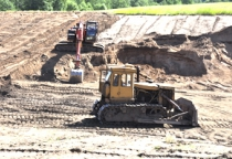 Благодаря строительству трассы М-11 в Новгородской области увеличат добычу песка