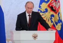Владимир Путин выступит с обращением в связи с референдумом в Крыму