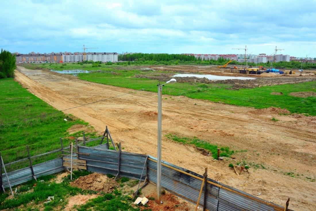 Луговую улицу в Великом Новгороде планируют построить в 2017 году