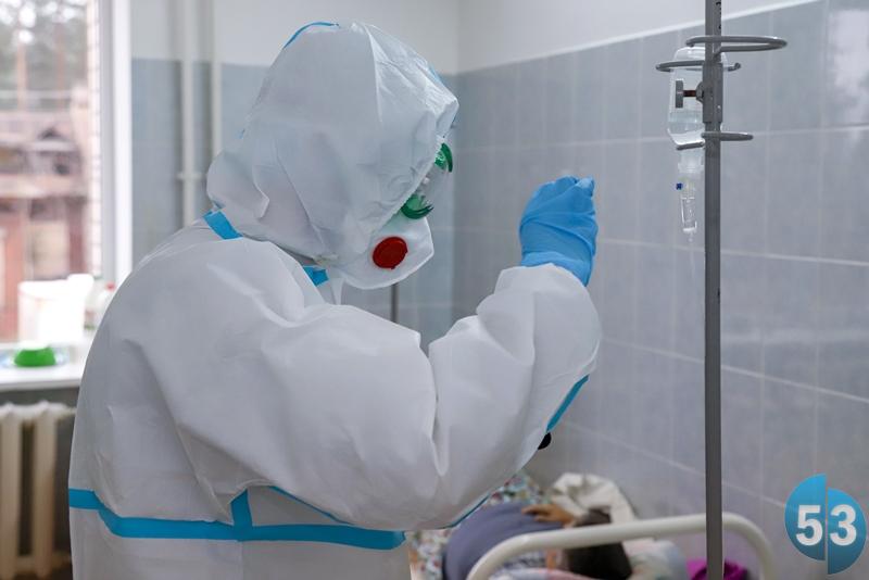 Количество случаев заражения COVID-19 в Новгородской области превысило 10 тысяч