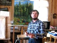 Новгородский художник Валерий Шульга выпустил книгу со своими лучшими работами