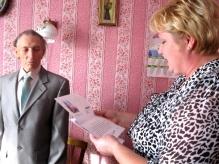 Ветерану из Поддорья Николаю Евсееву исполнилось 90 лет