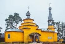 «53 новгородских храма»: церковь преподобного Никандра Городноезерского (поселок Хвойная)