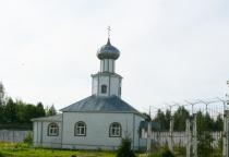 В парфинской исправительной колонии горела церковь