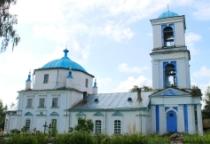 «53 новгородских храма»: церковь во имя Святой Живоначальной Троицы в селе Охона (Пестовский район)