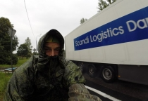 Сыроед из Йошкар-Олы, отправившийся в кругосветное путешествие на велосипеде, посетил Великий Новгород