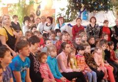 В Новгородскую область прилетел Рождественский Ангел