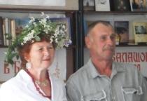 С 35-летием совместной жизни поздравили маревскую семью Кизюриных