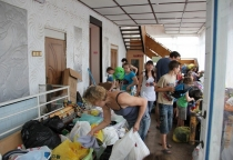 «Красный крест» ведёт сбор помощи беженцам с Украины