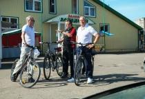 Сергей Митин совершил велопрогулку по Великому Новгороду