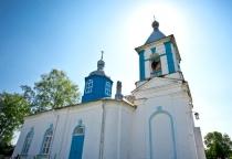 «53 новгородских храма»: церковь Успения Божией Матери в селе Молочково (Солецкий район)
