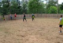 Холмские спортсмены изобрели свою игру - хокбол, посвятив её Чемпионату мира по футболу